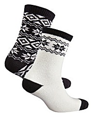 Naturally Close 2 Pack Ankle Socks