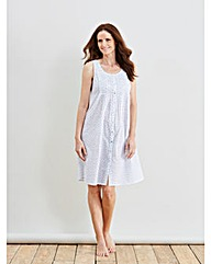 Naturally Close Printed Nightdress 38in