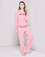 Pretty Secrets Slogan Pyjama Set