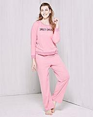 Pretty Secrets Slogan Pyjama Set
