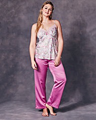 JOANNA HOPE Satin Cami Pyjama Set