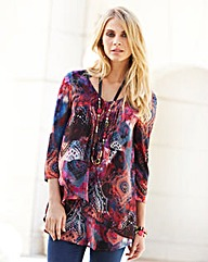 JOANNA HOPE Print Tunic