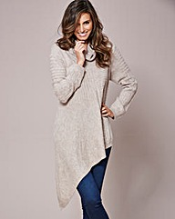 Joanna Hope Asymmetric Hem Jumper