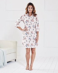 Pretty Secrets Floral Nightshirt
