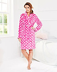Pretty Secrest Fluffy Fleece Gown 38in