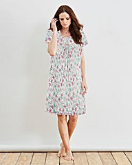 Naturally Close Print Nightdress