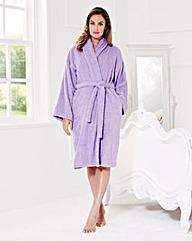 Pretty Secrets Towelling Wrap Gown L42