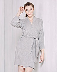 Pretty Secrets Cotton Wrap Gown
