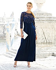 JOANNA HOPE Lace Bodice Maxi Dress