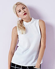 JOANNA HOPE Sleeveless Top