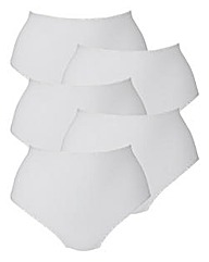 Naturally Close Pack of 5 Briefs