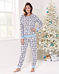 Pretty Secrets Christmas Penguin PJ Set