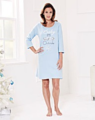 Pretty Secrets Christmas Pyjama Nightie