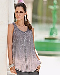 Together Ombre Beaded Blouse