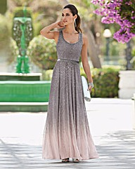 Together Ombre Beaded Maxi Dress