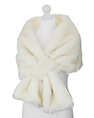 JOANNA HOPE Faux Fur Wrap