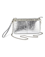 JOANNA HOPE Diamante Trim Clutch Bag