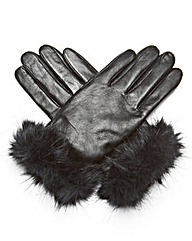 JOANNA HOPE Leather Gloves