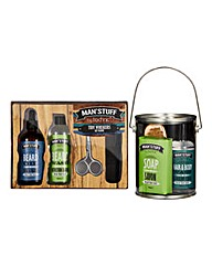 The Man Can and Beard Grooming Kit