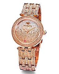 Juicy Couture Ladies Stone Set Watch