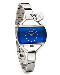 STORM Temptress Lazer Blue Watch