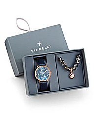 Fiorelli Watch & Bracelet Gift Set