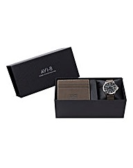 AVI-8 Watch Box Set with Wallet