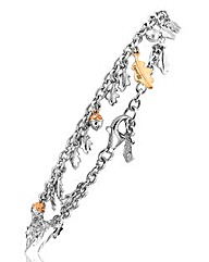 Clogau Royal Oak Charm Bracelet