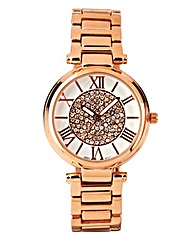 Ladies Sparkly Dial Bracelet Watch