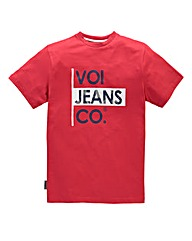 Voi Declan Red T-Shirt Regular