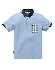 Voi Castle Sky Blue Polo Long