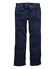 Wrangler Texas Stretch Blu/Blk 36 In Leg