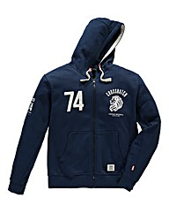 Crosshatch Roars Navy Zip Thru Hoody