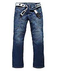 Crosshatch Parcoz Multi-Pocket Jean 33In