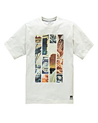 Jacamo Mist Graphic T-Shirt Long