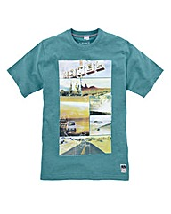Jacamo Pick Graphic T-Shirt Long
