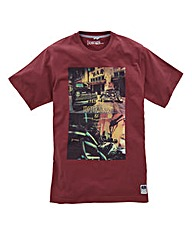 Jacamo Devlin Graphic T-Shirt Long