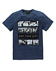 Label J Empire State T-Shirt Long