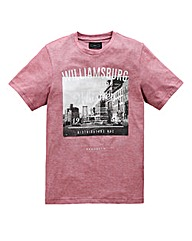 Label J Williamsburg Stripe T-Shirt Long