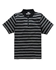 Jacamo Patrick Stripe Polo Long