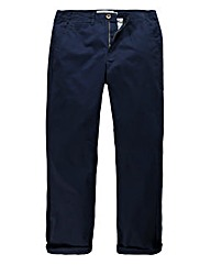 Jacamo French Navy Basic Chino 33In