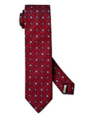 Williams & Brown London Geo Print Tie