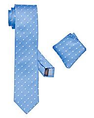 Black Label Tie & Pocket Square Set