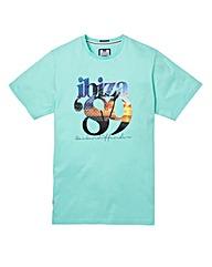 Weekend Offender Ibiza 89 Tea T-Shirt R