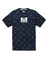 Weekeend Offender Lackner Navy T-Shirt R