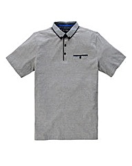Black Label By Jacamo Lugo Stripe Polo L