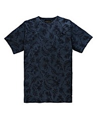 Label J Floral Print T-Shirt Regular