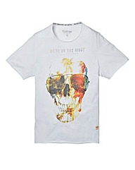 Firetrap Hayden White T-Shirt Regular