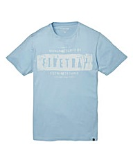 Firetrap Conner Sky T-Shirt Long