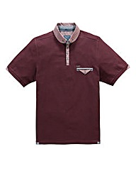 Bewley & Ritch Katen Burgundy Polo